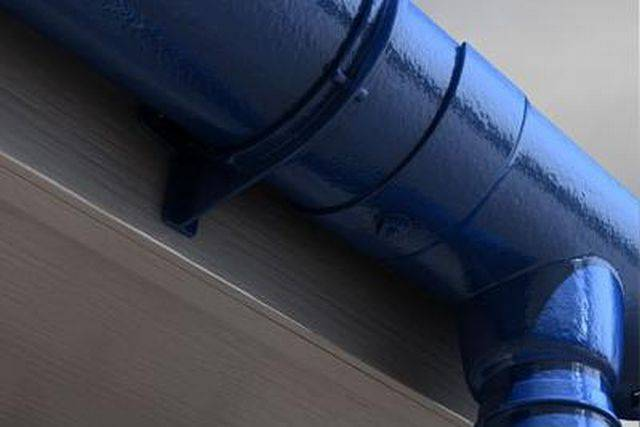 Heritage 113 mm Half Round gutters