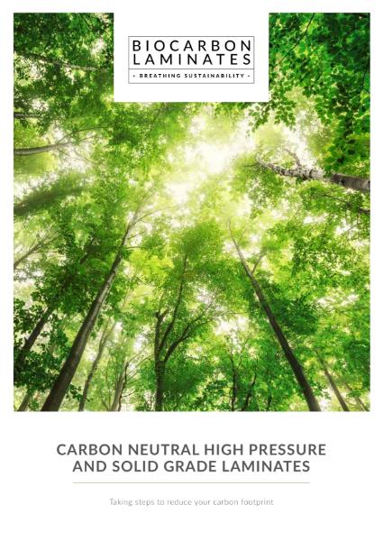 BioCarbon Laminates Product Brochure