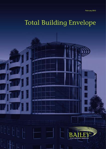 Total Building Envelope Overview