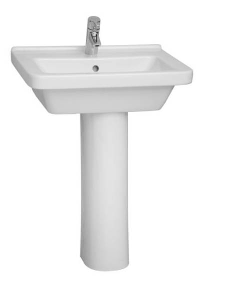 VitrA S50 Washbasin, 60 cm, Square, 5310