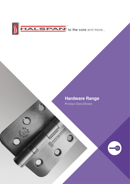 Halspan Hardware Range Brochure