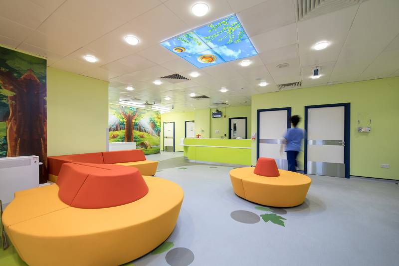 Altro brings enchantment to new children's emergency unit at Milton Keynes Hospital
