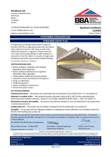 12/4956 Xtroliner Soffit Plus (Product Sheet 3)