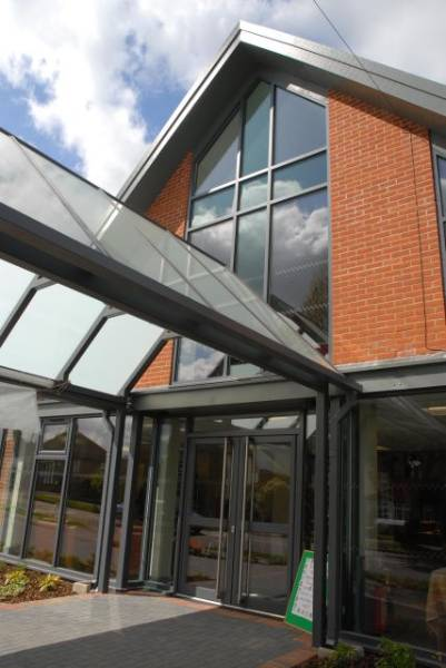 GT55 NI Commercial Door System (Double Leaf)