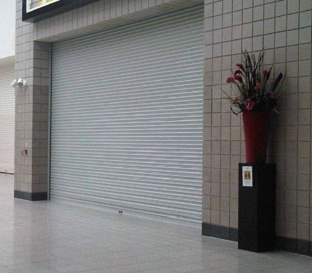 Security Shutter - Electrically Operated Roller Shutters (3 phase)