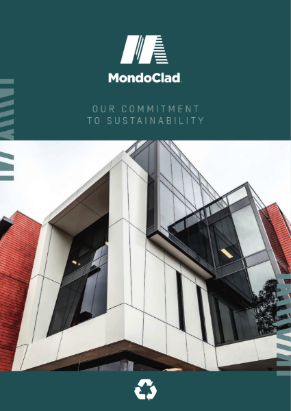 MondoClad Sustainability Brochure 2020