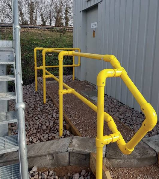 Dura Key Clamp Handrail