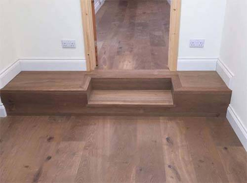 Installing Wood Flooring in a Hallway