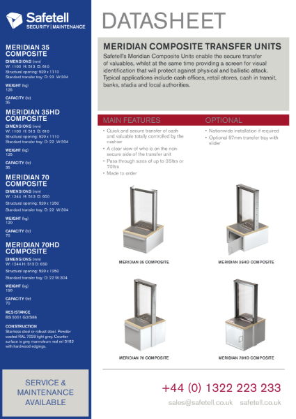 Meridian Composite - Transfer Windows