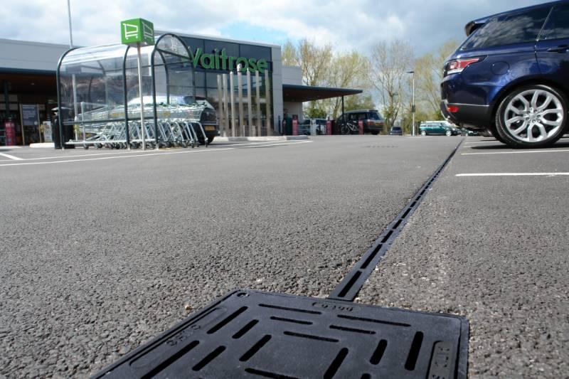 Gatic CastSlot specified for Waitrose car park