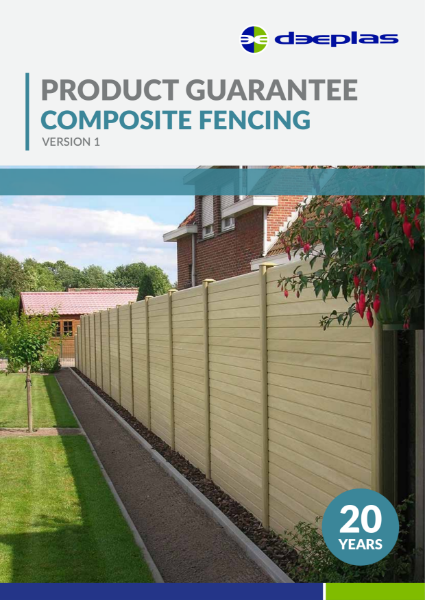 Composite Fencing Product Guarantee