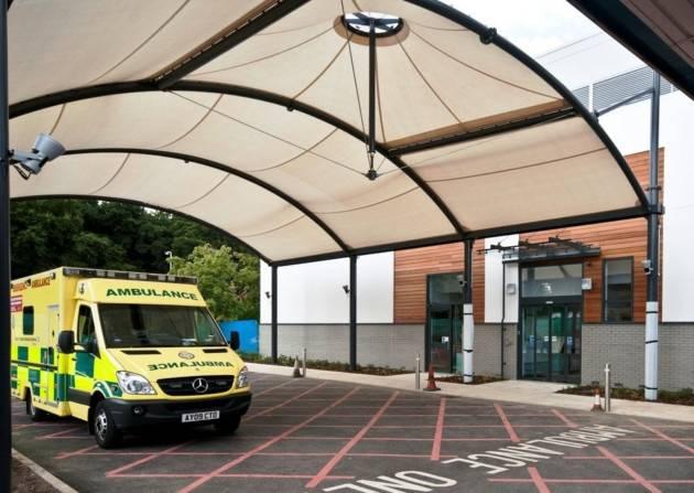 LISTER HOSPITAL, Stevenage, Hertfordshire, UK