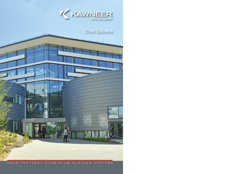 Kawneer Door Systems Brochure