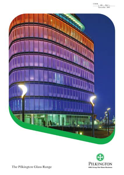 The Glass Range for Architects and Specifiers