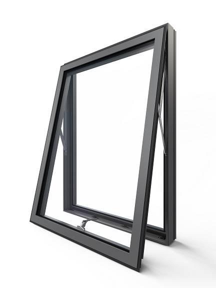 Aluminium Series 2 Casement Window System