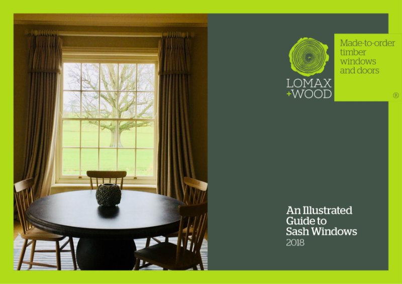 Timber Sash Window Guide From Lomax + Wood 2018