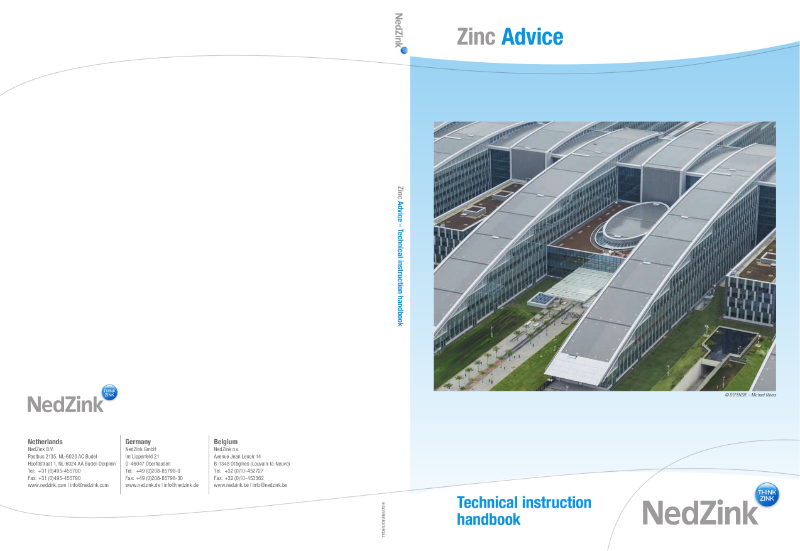 NedZink Technical Instruction Manual