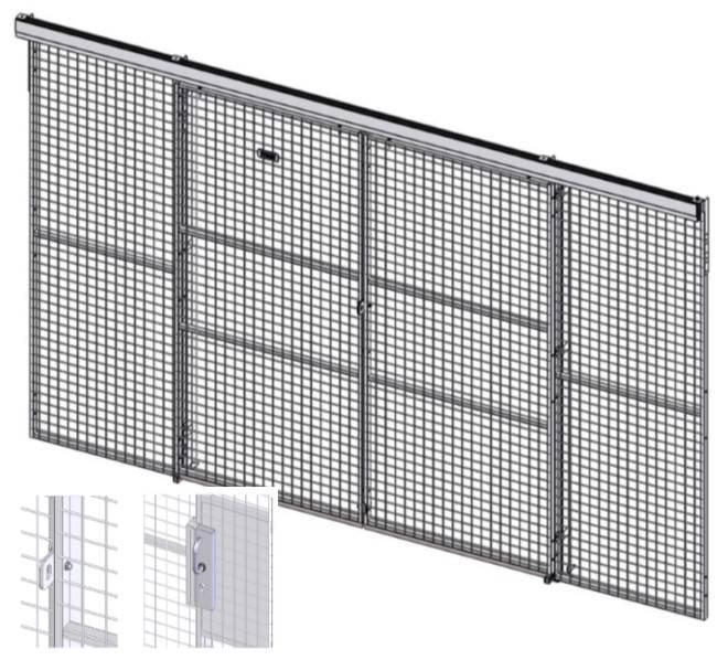 Caelum - Door Sliding Double - Single Rail