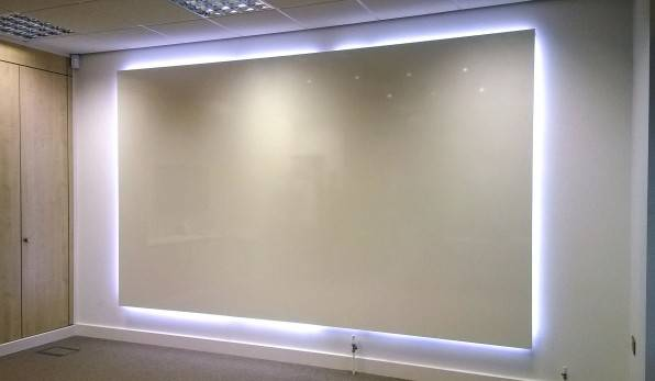 Backlit Whiteboard – ThinkingWall Whiteboard