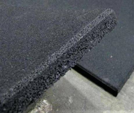 30 mm Sprung Rubber Heavy Duty Gym Tile