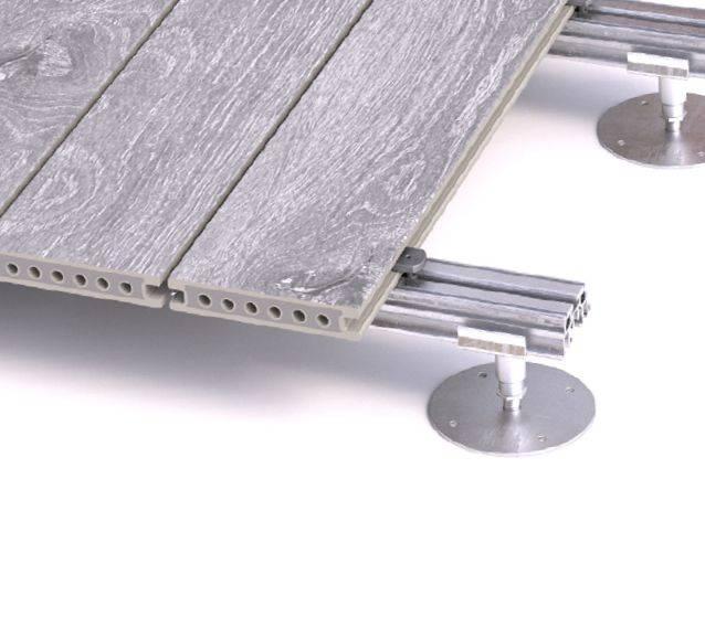 Preventa Fire-Resistant Adjustable Pedestals