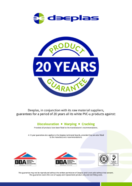 Deeplas Guarantee Certificate