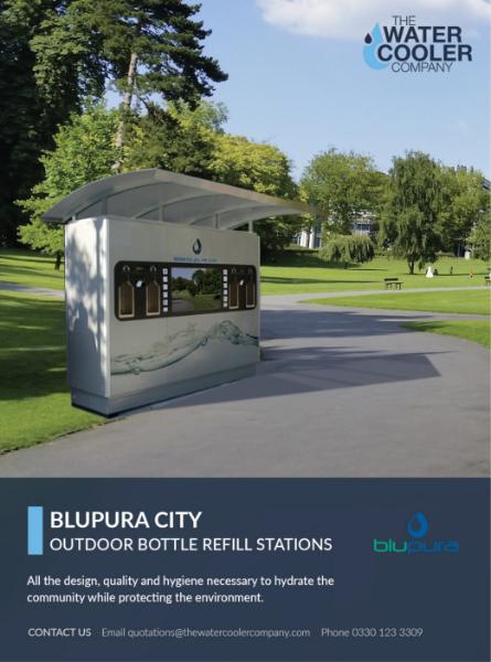 Blupura City Outdoor Bottle Filling Stations Brochure