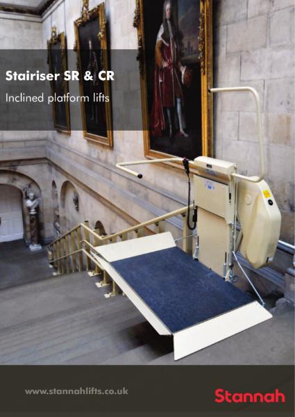 Stannah Stairiser Wheelchair Platform Stairlift Brochure