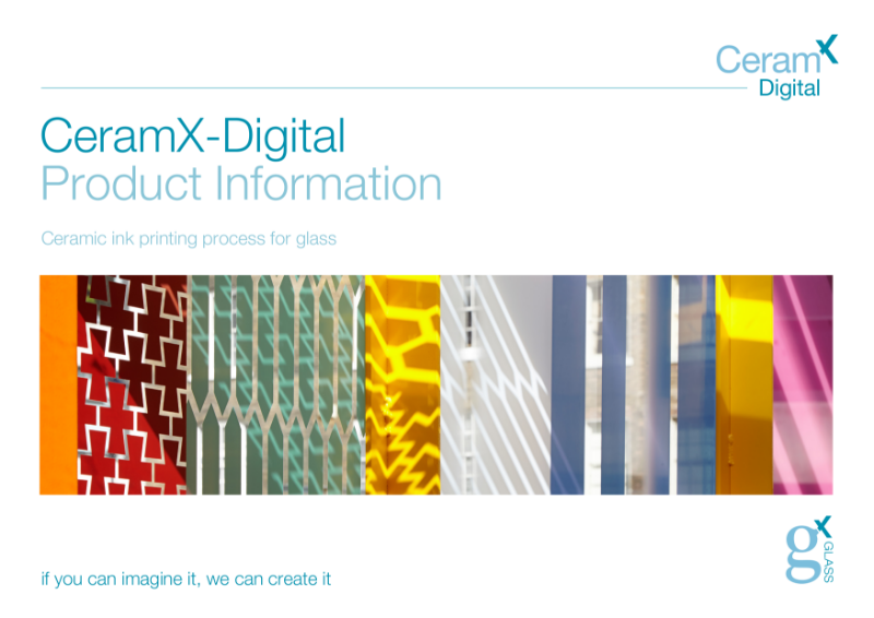 Ceramx-Digital Ceramic Printed Glass