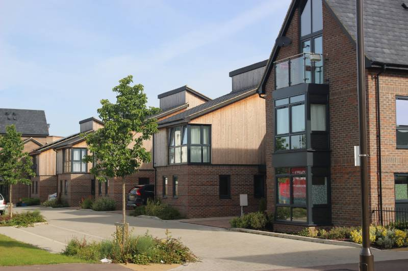 Oakgrove Housing, Milton Keynes. Featuring Deceuninck 5000 Series