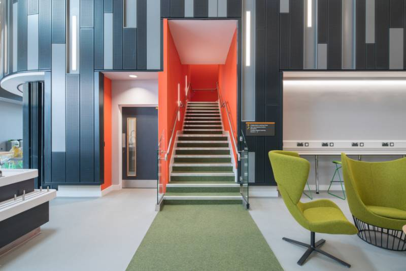 Stair Edgings, Matting & Wall Protection - Hull University