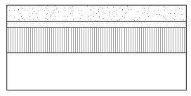 Precast concrete tactile flags on mortar laying course, asphalt concrete base course, and type 1 sub base