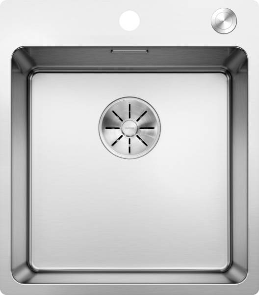 Andano Stainless Steel Inset Single Bowl with Ledge