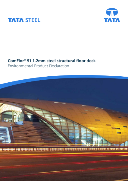 EPD ComFlor® 51 1.2mm gauge for ROW