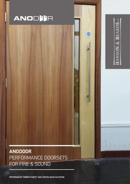 """""""ANODOOR & ANODOOR ULTRA"""" Timber Doorsets by Hanson and Beards Ltd"""