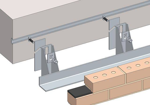 Masonry Support System - WSC Bracket Angle Support