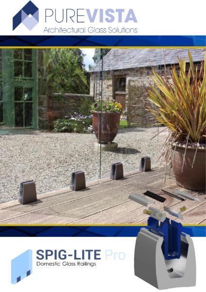 Spig-Lite Pro Glass Balustrade Brochure PDF
