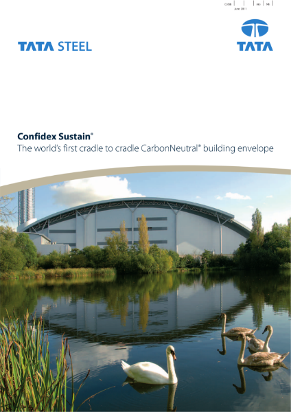 Confidex Sustain® The world's first cradle to cradle CarbonNeurtal® building envelope