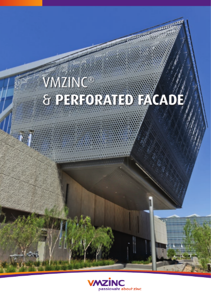 VMZINC Perforated Facade