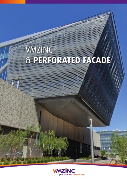 VMZINC Perforated Facade