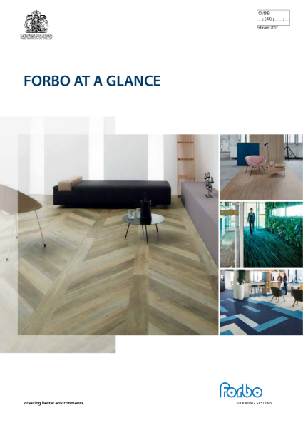 Forbo At a Glance Brochure