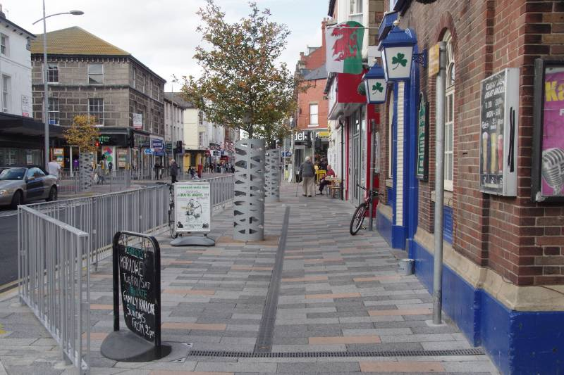 Rhyl High Street