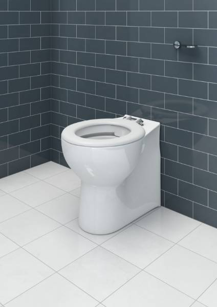 Rimless 50 cm back to wall or close coupled pan (4/2.6 L)