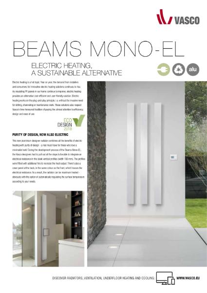 Vasco Beams Mono Electric