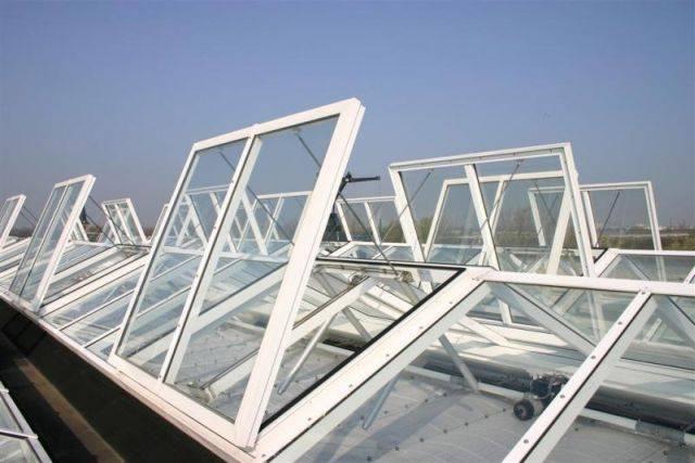 Firelight 2 natural casement roof ventilator