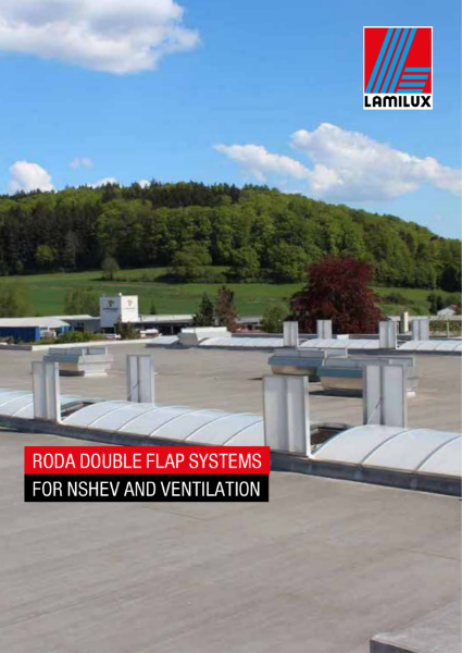 LAMILUX Roda double flap system for nshev brochure