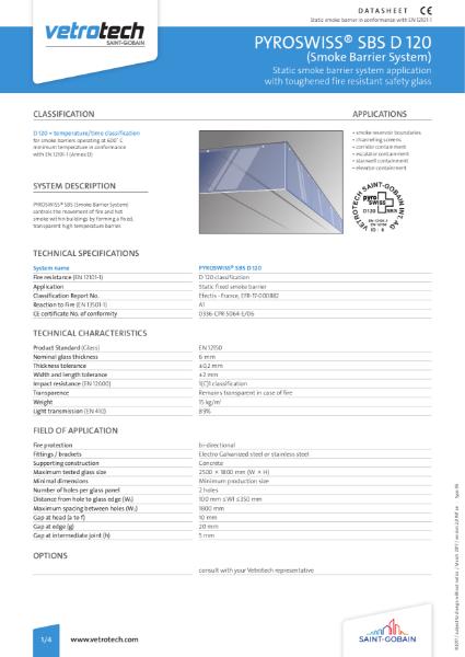 008. Pyroswiss Smoke Barrier System Datasheets