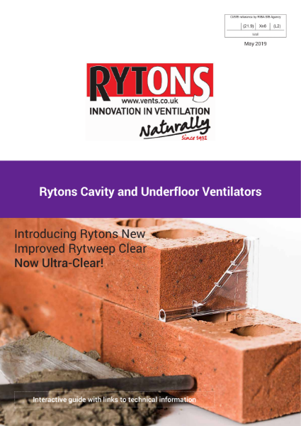 Cavity & Underfloor Ventilators
