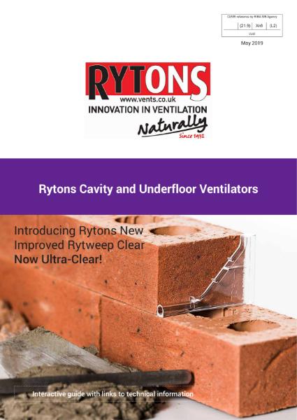 Cavity & Underfloor Ventilators