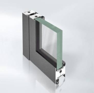 Thermally broken Steel fire-resistant door - Janisol C4